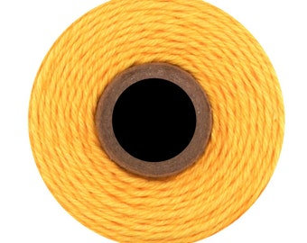 Solid Yellow Divine Twine (240yds) Solid Yellow