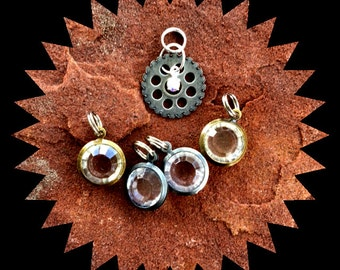 Steampunk Stitch Markers for Knitting