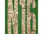 N16, Stoke Newington, London Art Print