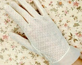 1950s Gloves Sheer Bridal