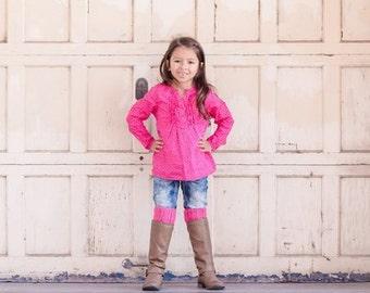 Girls Pink Boot Cuffs, Crochet boot cuffs, leg warmers, boot toppers, accessories, pink boot cuff, stocking stuffers, fall fashion