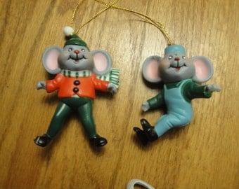Happy Mice Ornaments