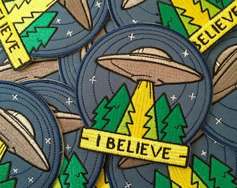 UFO Patch - I Believe