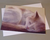 Smudge the Cat art card b...