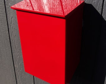 Modern Mailbox No. 1011 Wrap-Front in Powder Coated Aluminum