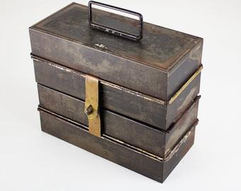 Antique Folding Cigar Cash Box-PRICE REDUCED