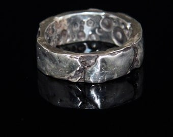 Fine Silver Inside Out Ring