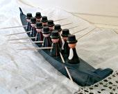 Vintage Wooden Boat   Made in Sweden