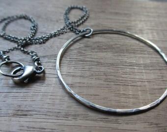 Aeternus - sterling silver necklace