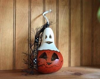 Ghostly Mini Gourd 5