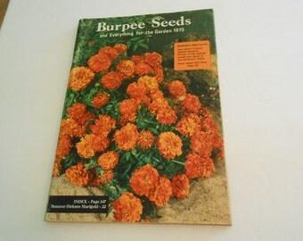 Vintage Burpee Seed catalog 1970