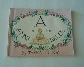 A is for Annabelle 1954 1st edition PB