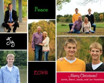 CH 7 - Photo Christmas Card (25 per set)