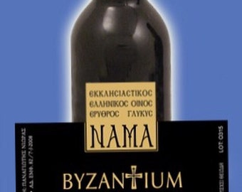 Nama Byzantium 375ml Holy Communion Wine Made in Greece