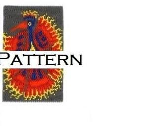 Firebird Amulet Pattern