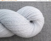 CLEARANCE Lace Weight Cashmere Recycled Yarn, Winter Blue, 590 Yards, Lot 130914