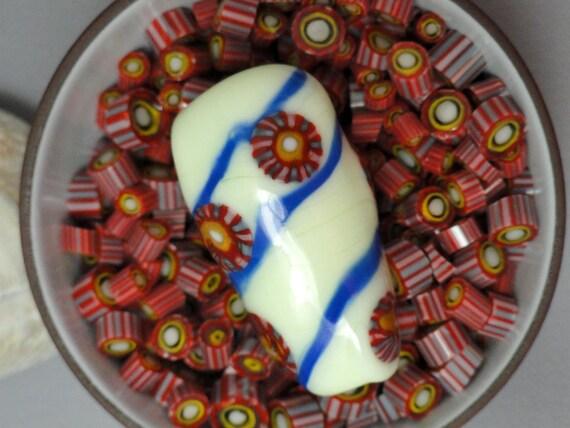 Basket Weaving Supplies Sacramento : Murrini chips sienna coe lampwork supplies