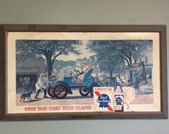 1960s PBR Large Bar Sign Pabst
