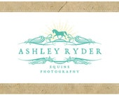 Custom Vector Logo - PreMade Logo - OOAK Logo - ASHLEY Logo Design - Horse Logo - Equine Logo - Stable Logo - Equine Photography