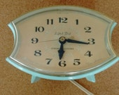 SALE Vintage GE Electric Clockwith Alarm
