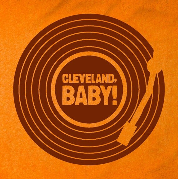 Orange CLEVELAND, BABY Kids Shirt/Onesie