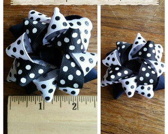 Homemade Boutique Girls Hair Bow