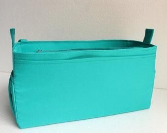 Louis Vuitton Neverfull GM Diaper purse insert - Extra large Bag organizer in Turquoise match LV Monogram