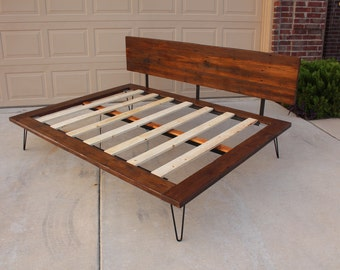 Reclaimed Case Study Bed