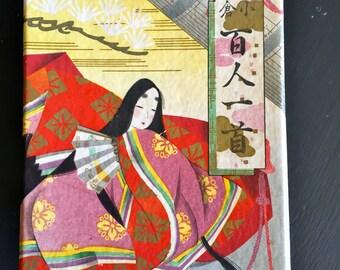 Vintage Japanese Uta-garuta Card Game 100 Waka Poems