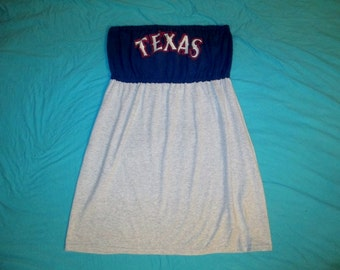 Texas Rangers Dress Game Day Size L-XL