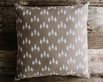 Treeline Woods Pillow