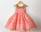 Pink Buttercup Dress with Petticoat