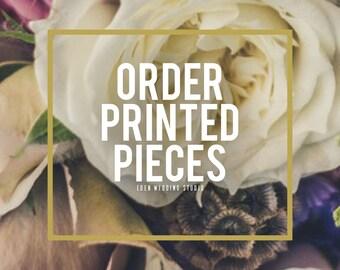 Order Printed Pieces