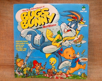 Peter Pan Presents - The New Adventures of BUGS BUNNY - 1973 Vintage Vinyl  Record Album