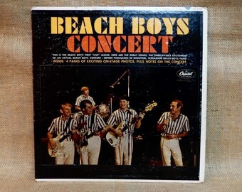 The BEACH BOYS - Beach Boys in Concert - 1964 Vintage Vinyl Record Album...With Booklet