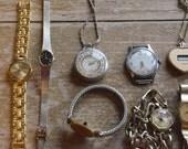 Watch Parts Vintage Watches Vintage Supply Set of 11 Watches Old Watches Antique Watches
