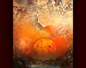 Venus ~  Original Abstract Painting- Planet - Space - Galaxy