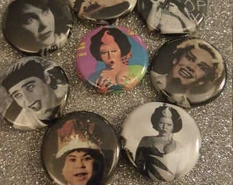 Forbidden Zone Pin Set