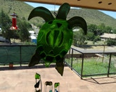 Fused Glass Turtle Chimes