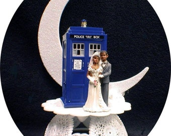 Tardis guest book Etsy