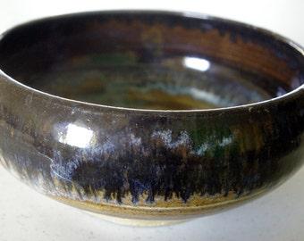 Wood grain bowl