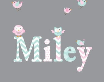 Childrens Name Wall Decal Girls Name Vinyl-Wall Decals