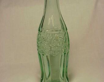 1943 Coca Cola Hobble Skirt Pat. D-105529 Bottle Burlington, VT.,  Embossed Crown Top Coke Soda Bottle