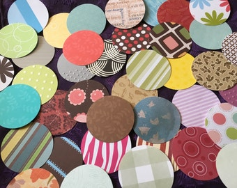 """100 1.5"""" Circle die cuts- paper punches"""