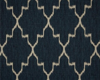 Two Colors Available - Lacefield Monaco Ikat Pillow Cover - Sapphire, Cobalt