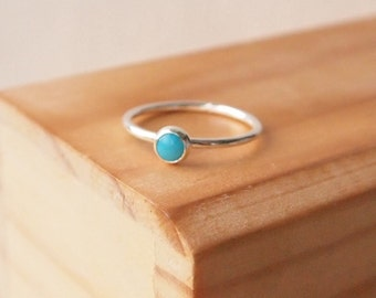Turquoise Ring, December Birthstone ring. Ready to ship, express delivery