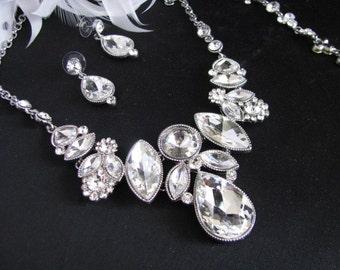 Rhinestone wedding, crystal earrings, bridal accessories, wedding accessories,Wedding Jewelry, Wedding Earrings, Rhinestone Earrings