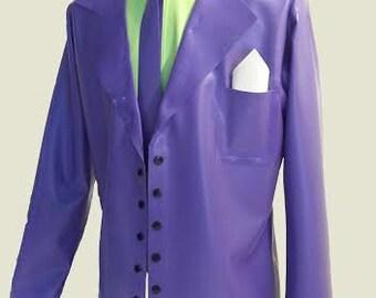 Latex Jacket, Latex Cosplay Suit
