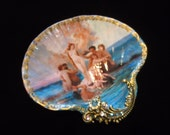 Birth Of Venus Large Shell Jewelry Dish