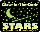 Glow in the Dark Stars, Moon for Kids Bedroom, Ceiling Stars, Toddler bedroom decor, nursery wall decor, Glow Stars, Removable Glowing Stars